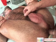 Bear gets his hairy asshole fucked