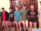 Group get gay hazed ..
