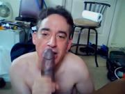 Me Sucking Cock