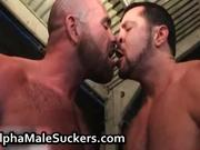 Extremely horny gay men fucking