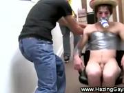 First time guys get fucked then creamed on
