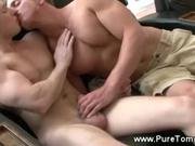 Muscle Jock All-Americans Sucking Cock