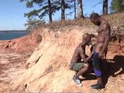 Hot Fuck Under The Hot Sun For Black guys