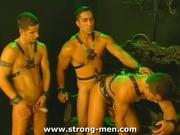 Fetish Freaks Have Threeway in Dungeon