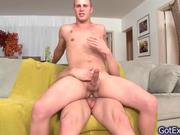 Two guys in hot fucking and sucking