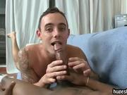 Happy to suck and sit on a big black cock