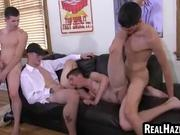College Students Sucking and Fucking in Dorm