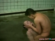 Intimate Ass Blasting In European Bath House
