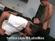 Los Three Amigos sucking each others cocks