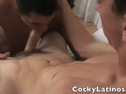 Hot Latin guys share a passionate fuck