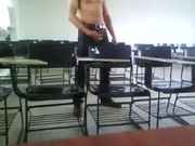 Jerking Off in the Classroom!