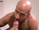 Bald Guy Is Hungry F..