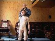 Bald guy steps all over his subservient BF