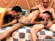Hairy European gets his ass handled with cock