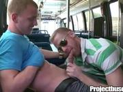 Straight Bait Getting Blown on Public Bus